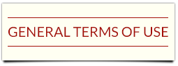 General Terms of Use